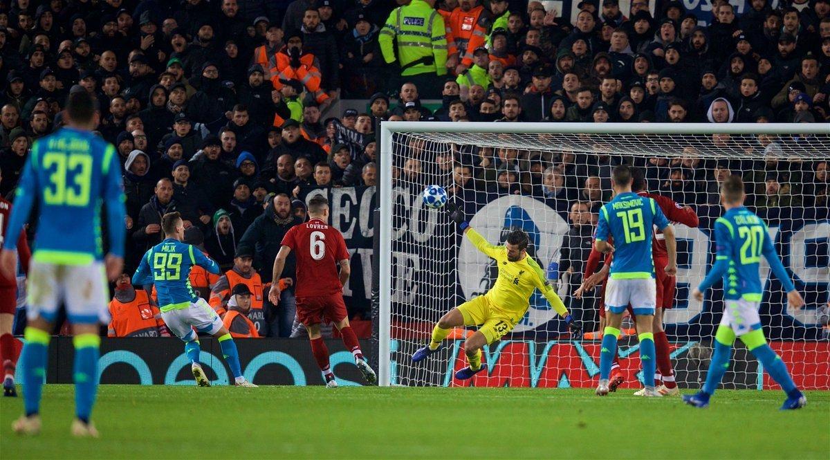 Ліверпуль вирвав перемогу у Наполі та вийшов в 1/8 фіналу Ліги чемпіонів