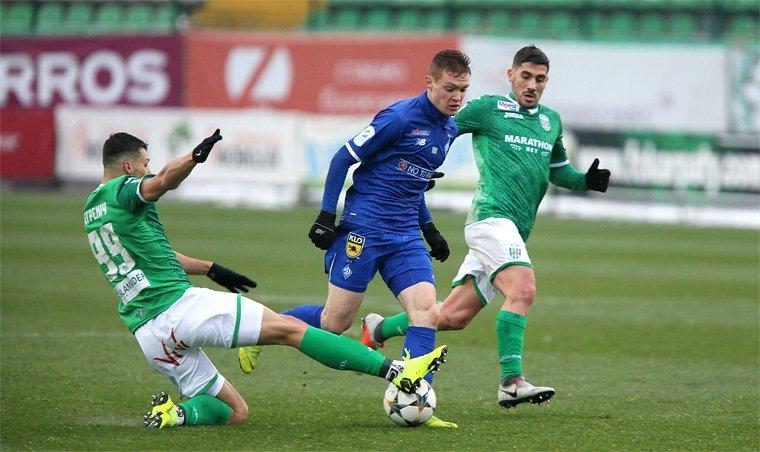 Динамо завершило год в чемпионате Украины разгромом Карпат во Львове: видео голов