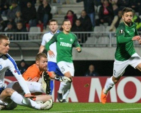 Динамо — Яблонец: онлайн-трансляция матча Лиги Европы