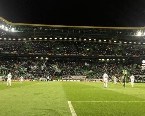 Спортинг – Ворскла 3:0: хроніка матчу Ліги Європи, відео голів