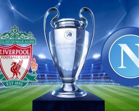 Ливерпуль — Наполи: прогноз букмекеров на матч Лиги чемпионов