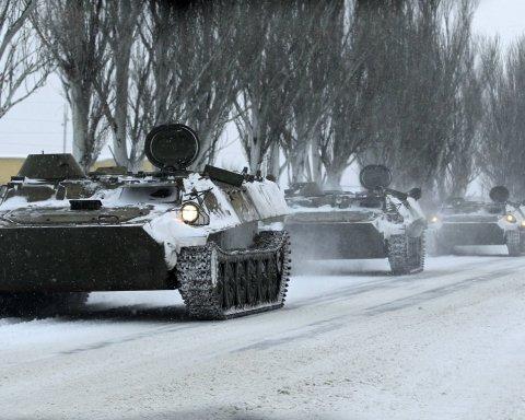 Возле украинской границы резко увеличилось количество войск РФ