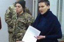 Савченко припиняє голодування та назвала причину