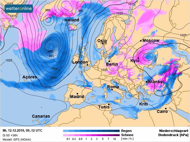 Циклон і складна погода: синоптик дала свіжий прогноз для України