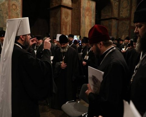 Объединительный собор: раскрыта интрига избрания Епифания митрополитом