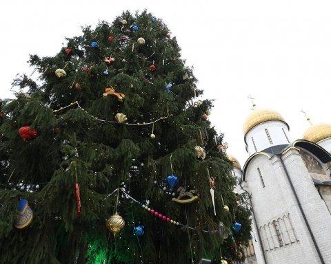 В России опозорились с новогодней елкой: опубликованы фото