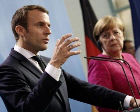 Макрон і Меркель зробили жорстку заяву щодо полонених Росією українських моряків