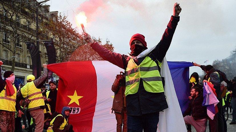 Причетність РФ до протестів у Франції: в Кремлі влаштували істерику