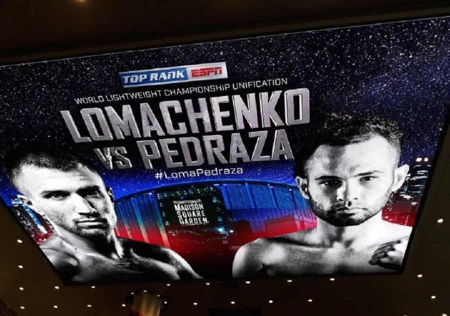 Ломаченко – Педраса: українському боксеру присвятили яскраві картини