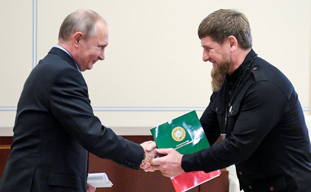Кадыров похвалил Путина и получил в ответ смех: появилось видео