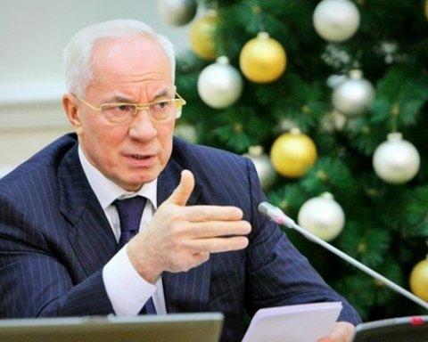 Європейський суд зняв санкції з соратника Януковича Азарова