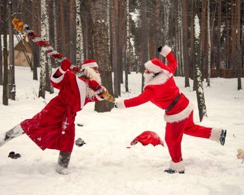 В Одесі Діди Морози влаштували бійку: опубліковано відео