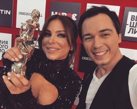 Ані Лорак та Віра Брежнєва отримали нагороди в Москві: опубліковано фото та відео
