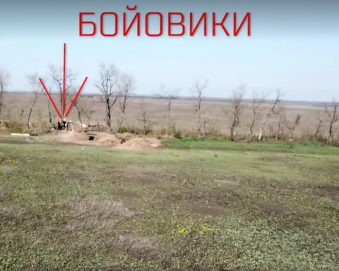 Позиции боевиков на Донбассе показали с высоты птичьего полета: появилось видео