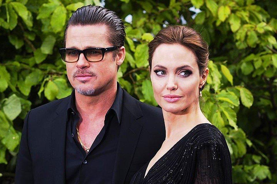 Анджелина Джоли и Брэд Питт поделили детей – новости шоубиза анджелина джоли и брэд питт