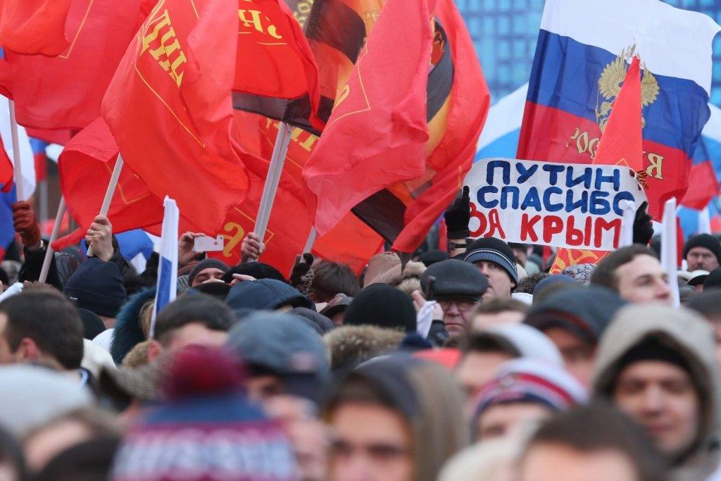 Окупанти осоромилися із святкуванням 23 лютого в Криму: опубліковано відео