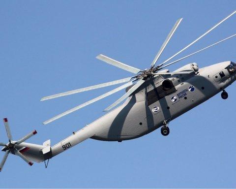 У Росії сталася серйозна НП з вертольотом, є постраждалі: перші подробиці і фото