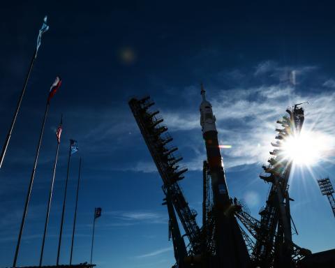 «Союз» успішно пристикувався до МКС: з'явилося унікальне відео