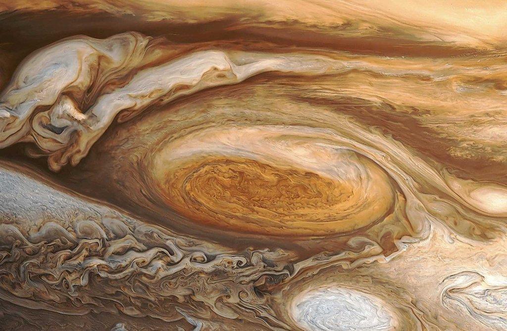 Юпітер заворожує: в NASA показали новий знімок газового гіганта