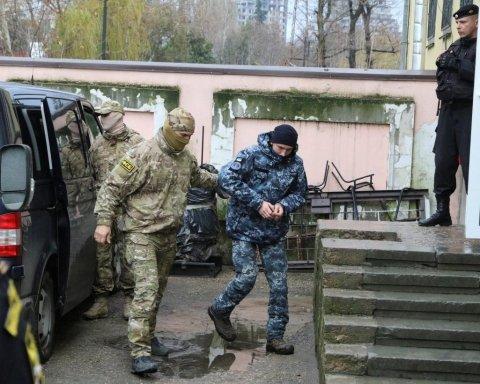 Захоплення українських моряків: російський суд виніс скандальне рішення