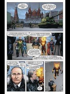 Путін став антигероєм популярних американських коміксів: фото