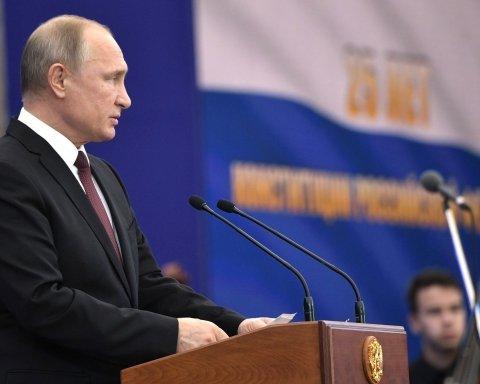 Путін нагадав росіянам, що всі вони помруть: відео