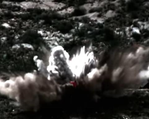 У США випробували надпотужні бомби: опубліковано відео
