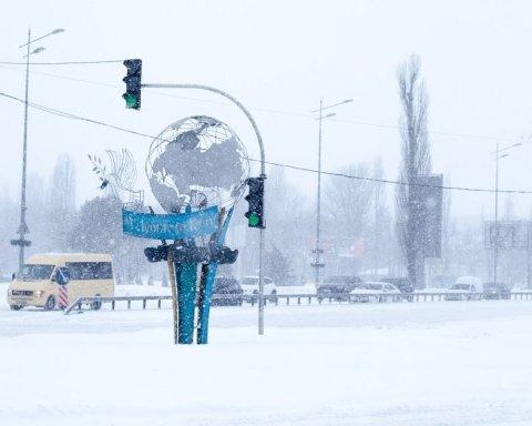 Знову сніг: синоптики дали прогноз погоди для Києва