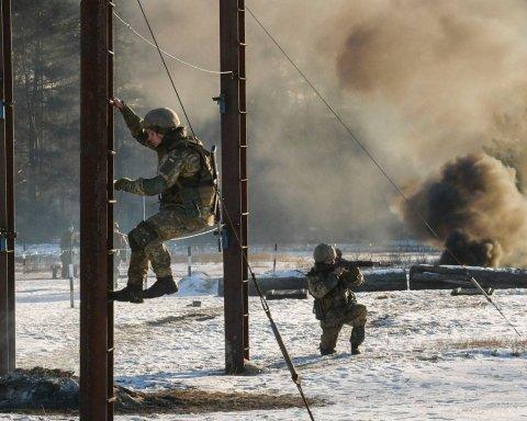 Под Киевом начались самые масштабные учения силовиков: яркие кадры