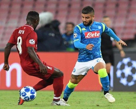 Ливерпуль — Наполи: онлайн-трансляция матча Лиги чемпионов
