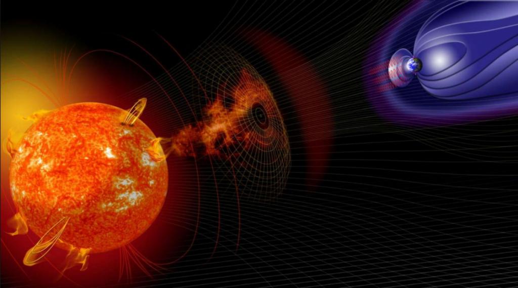 Вчені дали розклад магнітних бур на березень