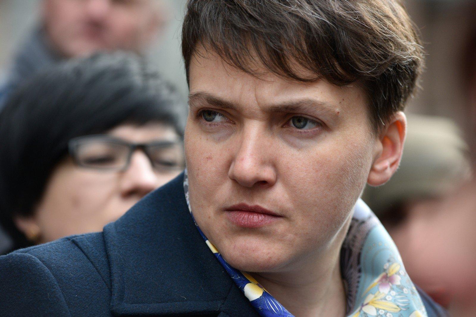 Савченко оголосила голодування: опубліковано відео