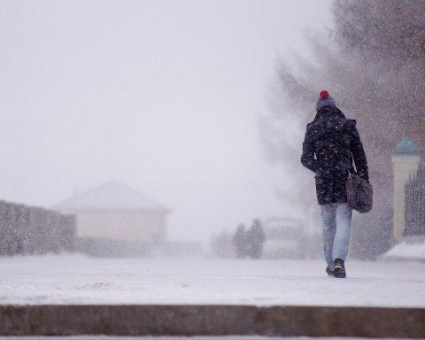 Дожди, снегопад и сильный ветер: погода не балует, какие области пострадают
