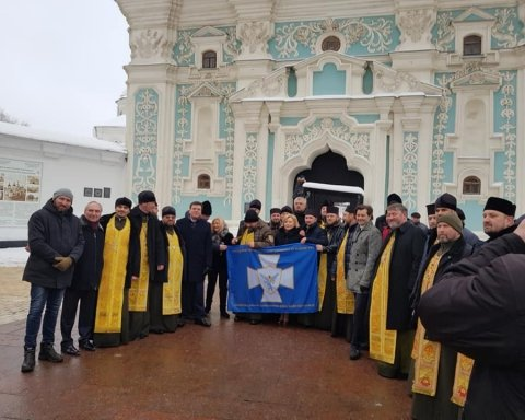 Об'єднавчий собор: з'явились вражаючі фото з Софійської площі у Києві