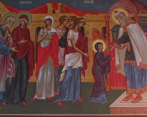 Введення в храм Пресвятої Богородиці: красиві привітання зі святом та листівки