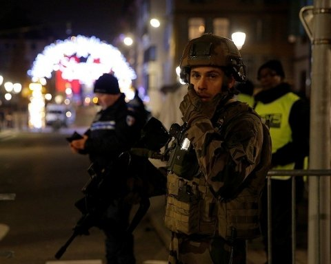 Стрельба в Страсбурге: появились новые фото и видео