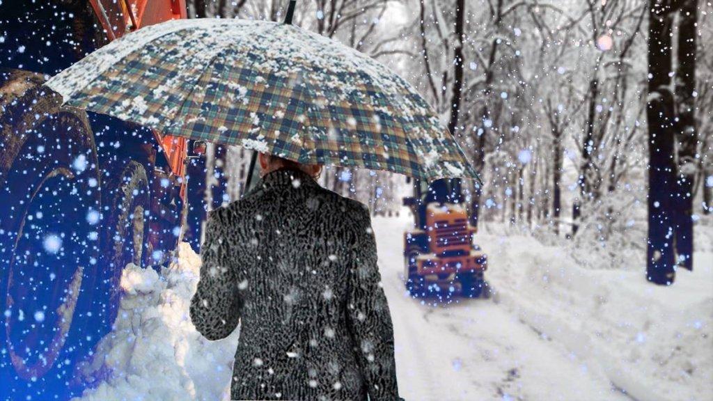Україну засипає снігом: де найгірше