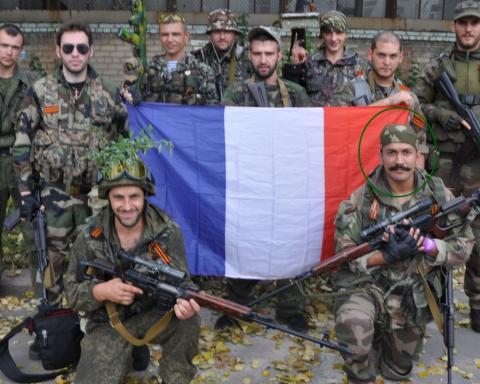 На протестах у Франції помітили бойовика з Донбасу: з'явилися фото