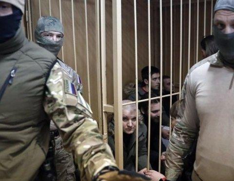 Московський суд вирішив долю захоплених українських моряків