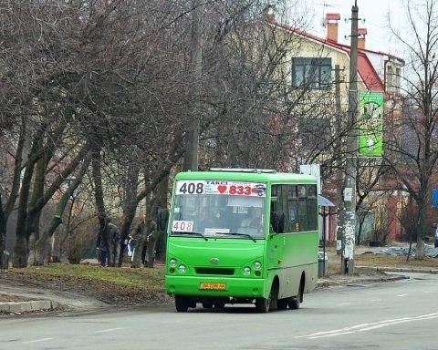 Назвал убийцей: водитель маршрутки набросился на ветерана АТО в Киеве