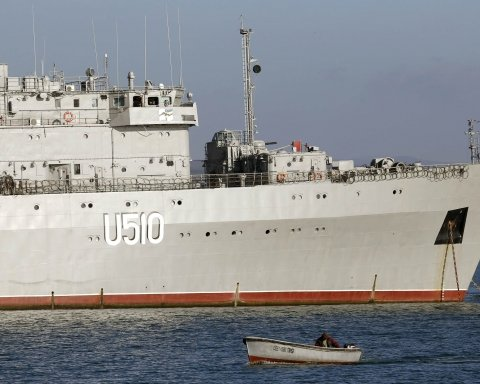Захоплені українські кораблі: з'явилось цікаве фото з окупованого Криму