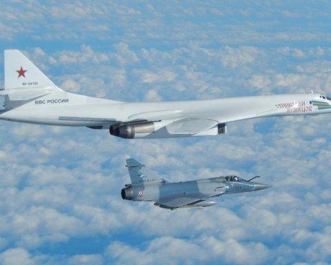 США подняли самолеты из-за опасных российских бомбардировщиков