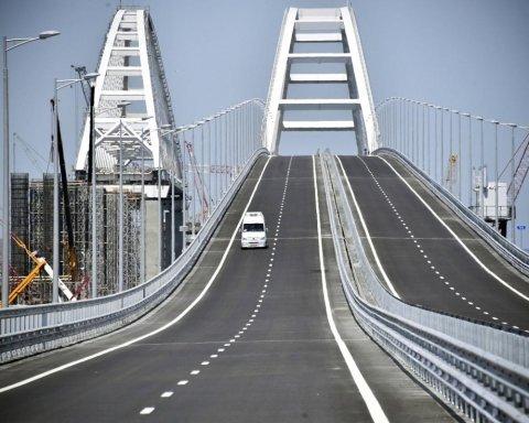 Очень дорого: стало известно о серьезных проблемах с Крымским мостом