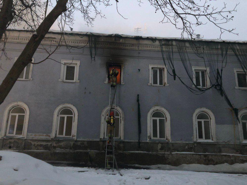 Києво-Печерську лавру підпалив безхатько