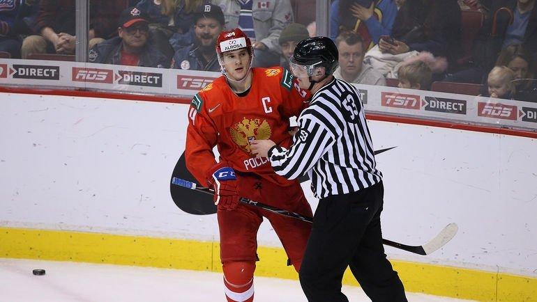 Капітан збірної Росії зхокею показав ганебну поведінку після поразки від США