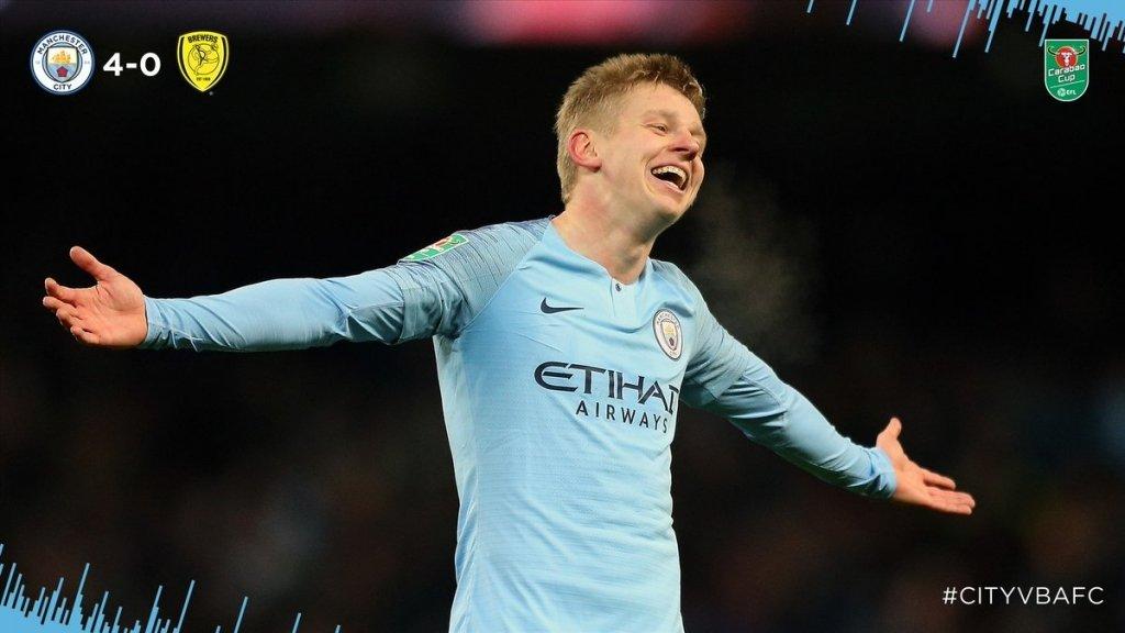 Олександр Зінченко забив перший гол за«Манчестер Сіті»