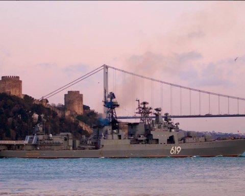 Росія похвалилася фото небезпечного військового корабля в Криму