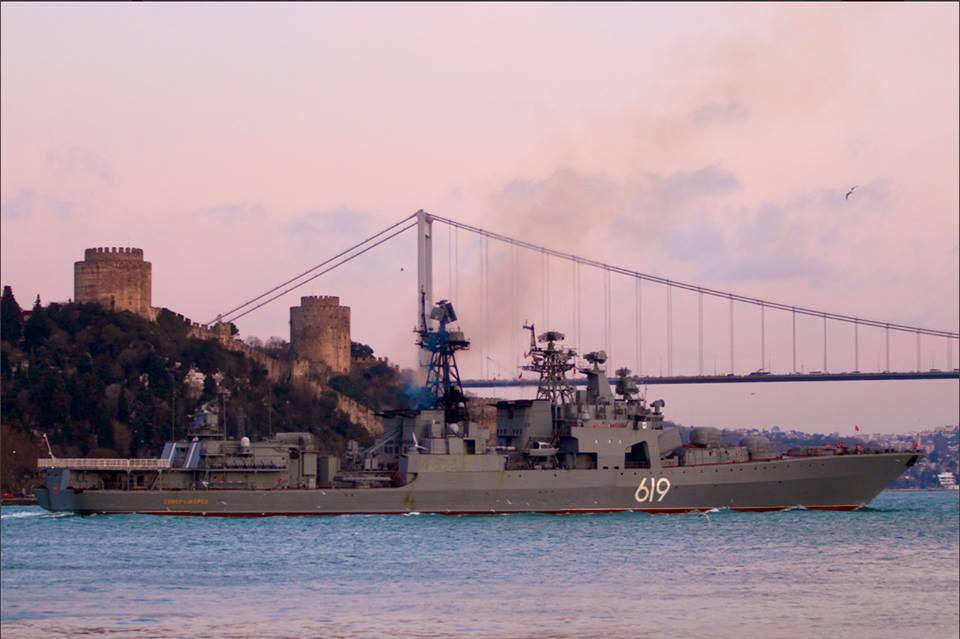 Росія завела в Чорне море небезпечний ударний корабель: опубліковано фото