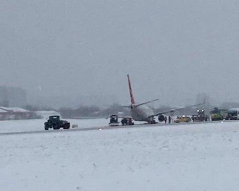 У Львові сталася моторошна НП з літаком: на борту були десятки пасажирів