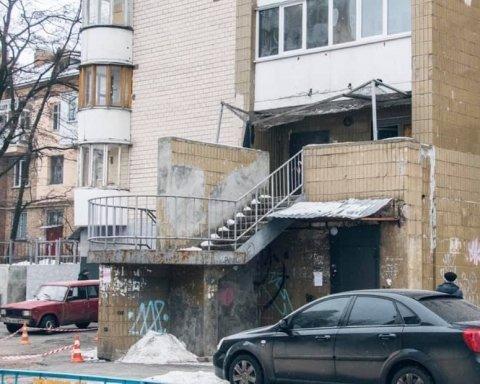 В Киеве произошло жуткое самоубийство: детали и кадры с места